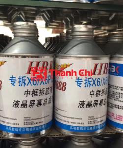 Dung Dịch Tách Kính HBK 888 - Chuyên Để Tẩy Keo (1 Thùng 50 Lọ) - LPK Thành Chi Mobile