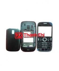 Nokia 205 - Vỏ Ráp Máy, Màu Đen - LPK Thành Chi Mobile