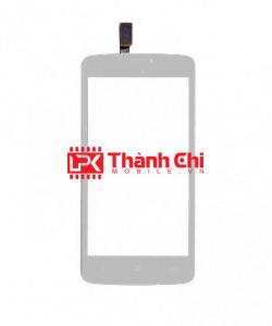 Gionee Ctrl V4S - Cảm Ứng Zin Original, Màu Trắng, Chân Connect, Ép Kính - LPK Thành Chi Mobile