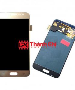 Samsung Galaxy J1 2016 / SM-JJ120 - Màn Hình Nguyên Bộ Phản Quang Chỉnh Sáng, Màu Vàng Gold, Kèm Phên Sắt Chống Vỡ Góc - LPK Thành Chi Mobile