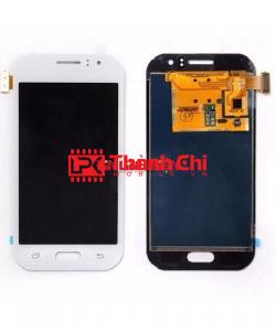 Samsung Galaxy J1 2016 / SM-JJ120 - Màn Hình Nguyên Bộ Phản Quang Chỉnh Sáng, Màu Trắng, Kèm Phên Sắt Chống Vỡ Góc - LPK Thành Chi Mobile