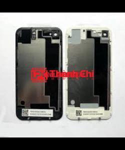 Apple Iphone 4G - Khung Xương Ráp Máy / Khung Xương Đỡ Màn Và Main / Khung Sườn Liền Viền Benzen Màu Trắng - LPK Thành Chi Mobile