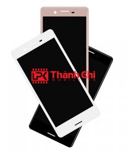 Sony Xperia X / F5122 - Màn Hình Nguyên Bộ Zin Ép Kính, Hồng Phấn - LPK Thành Chi Mobile