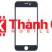 Apple Iphone 6G - Mặt Kính Liền Khung Ron, Màu Đen, Ép Kính - LPK Thành Chi Mobile