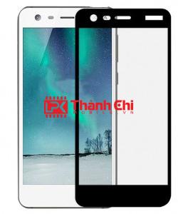 Nokia 2 Dual Sim / TA-1029 - Dán Cường Lực 5D Full Viền, Màu Trắng - LPK Thành Chi Mobile