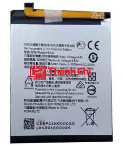 Pin Nokia HE322 Dùng Cho Nokia 7 Dual Sim / TA-1041 Dung Lượng 3120mAh - LPK Thành Chi Mobile