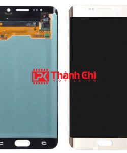 Samsung Galaxy S6 Edge Plus 2015 / SM-G928F - Màn Hình Nguyên Bộ Zin Ép Kính, Màu Trắng Sữa - LPK Thành Chi Mobile