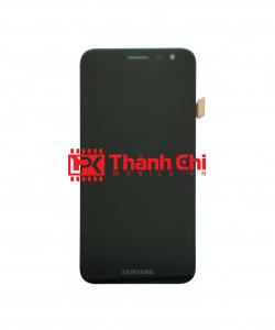 Samsung Galaxy J2 2015 / SM-J200 - Màn Hình Nguyên Bộ Phản Quang Chỉnh Sáng, Màu Đen, Kèm Phên Sắt Chống Vỡ Góc - LPK Thành Chi Mobile