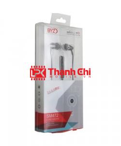 BYZ SM472 - Tai Nghe Đa Năng Insert Earphones, Hàng Chính Hãng BYZ / Tai Nghe In-Ear Monitors, IEM - LPK Thành Chi Mobile