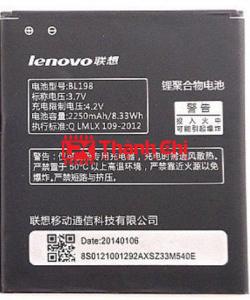 Pin Lenovo BL198 S880 S880i S890 K860 A850 A830 A859 - LPK Thành Chi Mobile