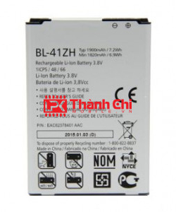 Pin LG BL-41ZH 1900mAh Dùng Cho LG L50 / L Fino H340 / D213, Dung Lượng 1820mAh - LPK Thành Chi Mobile