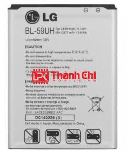 Pin LG BL-59UH Dùng Cho LG G2 Mini / D620 / D620R, Dung Lượng 2440mAh - LPK Thành Chi Mobile