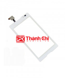 Sony Xperia C C2305/ S39h - Cảm Ứng Zin Original, Màu Trắng, Chân Connect - LPK Thành Chi Mobile
