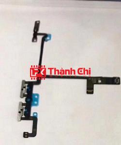 Apple Iphone X - Cáp Nguồn Kiêm Cáp Volume Zin Bóc Máy / Dây Bấm Volume - LPK Thành Chi Mobile