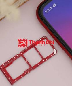OPPO A3S - Khay Sim Ngoài / Khay Để Sim, Màu Đỏ - LPK Thành Chi Mobile