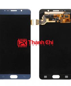Samsung Galaxy Note 4 2015 / SM-N910C - Màn Hình Nguyên Bộ Zin Ép Kính Zin, Màu Xanh Đen - LPK Thành Chi Mobile