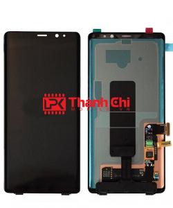Samsung Galaxy Note 8 2017 / SM-N950F/DS / SM-N9500 - Màn Hình Nguyên Bộ Zin Bóc Máy Liền Khung, Màu Đen, Viền Benzen Đen - LPK Thành Chi Mobile