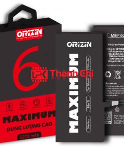 Orizin Maximum MBIP6G - Pin Iphone 6G Phiên Bản Dung Lượng Cao, Dung Lượng Cực Đại 2220mAh - LPK Thành Chi Mobile