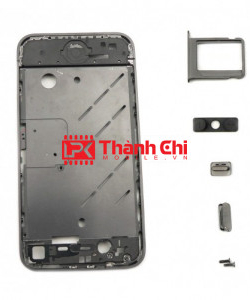 Apple Iphone 4S - Khung Xương Lắp Máy, Màu Đen / Trắng - LPK Thành Chi Mobile