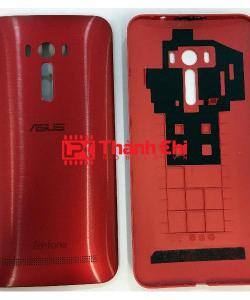 Asus Zenfone Selfie ZD551KL 2015 / Z00UD / ZD550KL - Nắp Lưng Ráp Máy, Màu Đỏ - LPK Thành Chi Mobile