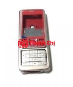 Nokia 6300 - Vỏ Ráp Máy Kèm Bàn Phím, Màu Đỏ - LPK Thành Chi Mobile