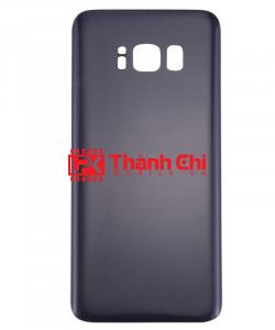 Samsung Galaxy S8 2017 / SM-G950 - Nắp Lưng Ráp Máy Có Sẵn Imei, Màu Tím Khói / Nâu Cánh Gián - LPK Thành Chi Mobile