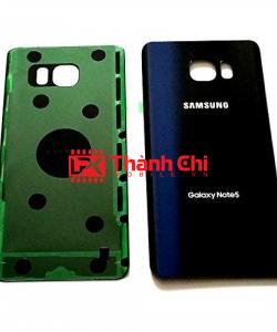Samsung Galaxy Note 5 2015 / SM-N920C - Nắp Lưng Zin New Có Sẵn Imei, Màu Xanh Đen - LPK Thành Chi Mobile
