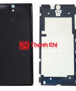 Sony Xperia C5 Ultra Dual / E5563 / E5553 - Nắp Lưng Ráp Máy, Màu Đen - LPK Thành Chi Mobile