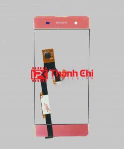 Sony Xperia XA / F3116 - Cảm Ứng Zin Original, Màu Hồng, Chân Connect, Ép Kính - LPK Thành Chi Mobile