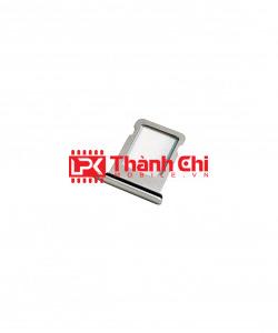 Apple Iphone XR - Khay Sim Ngoài / Khay Để Sim, Màu Trắng Sữa - LPK Thành Chi Mobile
