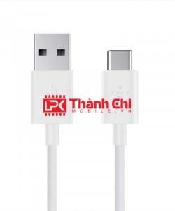 Cáp Dữ Liệu USB Type C 0,3M - Dùng Cho Các Dòng Máy Androi Cổng Type C, Chất Liệu Dây Nhựa, Chiều Dài 0,3m, Màu Trắng - LPK Thành Chi Mobile