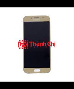 Samsung Galaxy A5 2017 / SM-A520F / SM-A520H - Màn Hình Nguyên Bộ Incell Cáp Cảm Ứng Liền Màn Hình, LCD Siêu Mỏng, Màu Vàng Gold - LPK Thành Chi Mobile